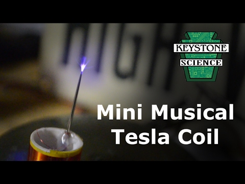 How to make a mini Musical Tesla Coil