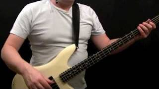 How To Play Bass Gutiar To Tush - ZZ Top - Dusty Hill - Beginner
