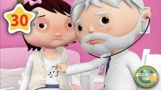 Taking medicine (Sick Song) | Kids Songs | Little Baby Bum N...