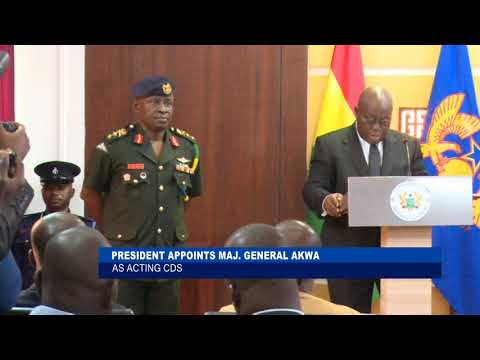 (ERSTWHILE)   PRESIDENT AKUFO-ADDO APPOINTS NEW CDS_AKM