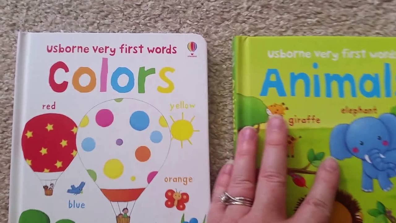 BEST Books for Babies: Usborne\'s Very First Colors & Very First ...