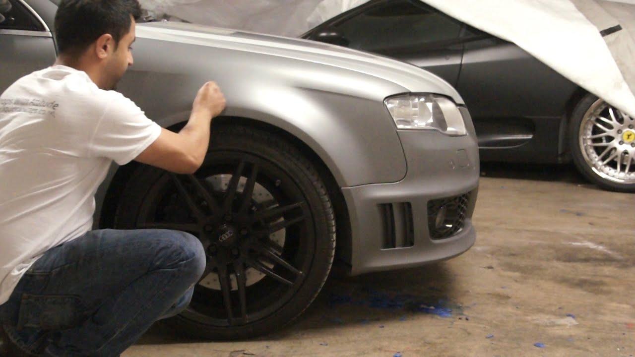 Peeling An Audi Rs4 Liquid Car Wraps Plasti Dip