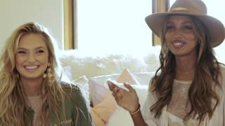 Victoria's Secret Angels Talk Summer