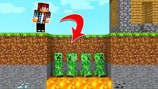 Minecraft REVERSO #03: ARMADILHA DA GRAMA INVISÍVEL !!