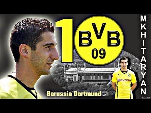 Henrikh Mkhitaryan - Borussia Dortmund ᴴᴰ[analysis]  dribbling●shot●assists●technique●skills● 