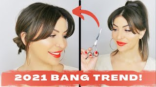 Hairdresser's Guide To Cuтting Your Own Curtain Bangs and NOT HATING THEM!