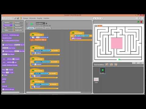 Scratch İle Labirent Oyunu Nasıl Yapılır?