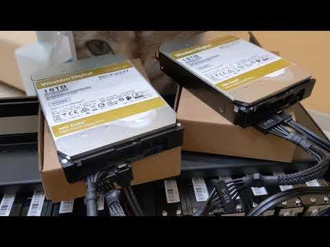 "Жорсткий диск Western Digital Gold Enterprise Class 18 TB 7200 rpm 512 MB WD181KRYZ 3.5"" SATA III"