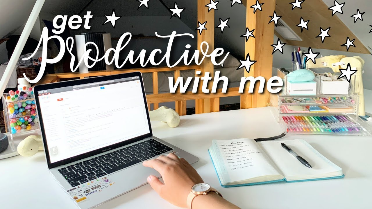 get productive with me: vlog