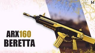 Warface Gold Beretta ARX160