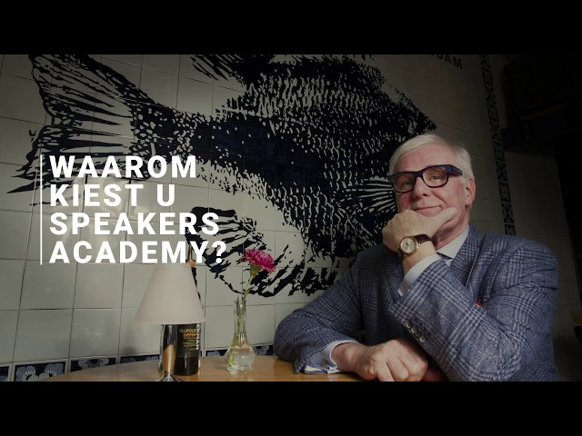 Waarom kiest u Speakers Academy®? - Willem Reimers