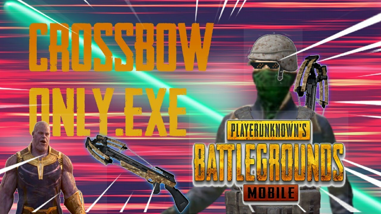 Crossbow Only.exe 😂🤣   PUBGM.EXE