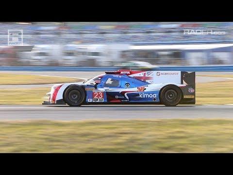 RACER: Fernando Alonso on Track at Daytona