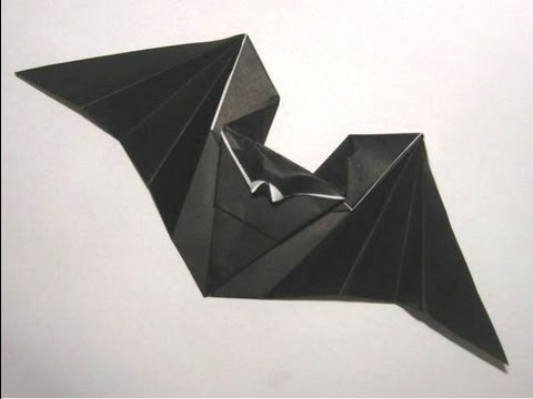 Origami Hungry Bat By Anita Barbour