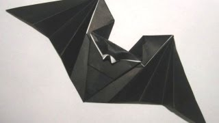 Origami 'hungry Bat' By Anita Barbour