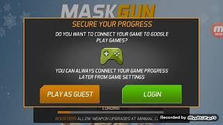 Граємо в гру MASK GUN шутер онлайн.