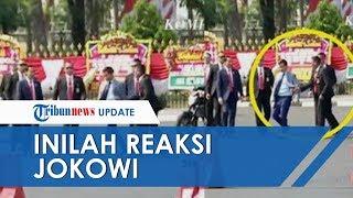 Ini Reaksi Jokowi saat Lihat Gibran Diadang Paspampres karena Menerobos Barikade Petugas