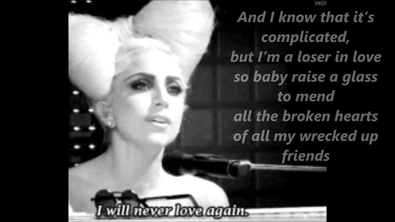 Lady Gaga Speechless Acoustic Lyrics Chords Chordify