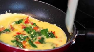 How to make the perfect veggie omelette