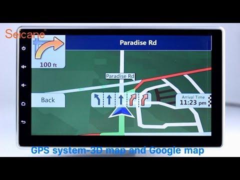 2 Din Universal Radio DVD GPS Navigation Player with Bluetooth Music Audio system