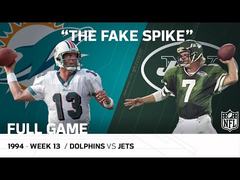 """Marino Fake Spike"" Miami Dolphins vs. New York Jets (Week 13, 1994)  