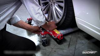 Car Dolly Auto Mover - GoCart (TM) - Portable Jacks Vehicle Wheel Dollies and Carts by Ranger