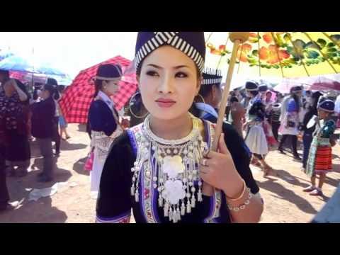 BEAUTIFUL HMONG GIRL IN LAOS NEW YEAR 2013- HNUB YAJ- FREE PHONE NUMBER