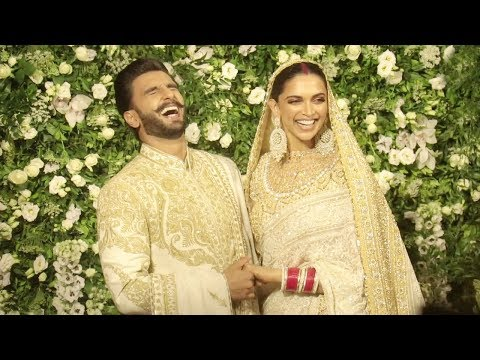 Ranveer Singh & Deepika Padukone Look Like A Match Made In Heaven At 2nd WEDDING Riception In Mumbai