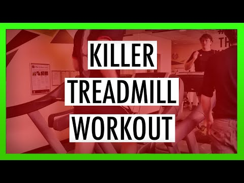 Treadmill Workout to Build Running Strength