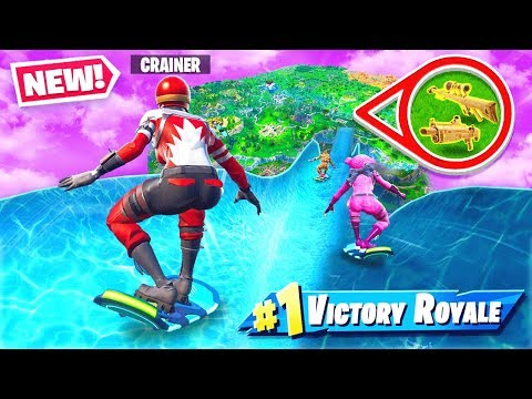 LOOT WATER SLIDE in Fortnite!