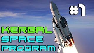 Kerbal Space Program - Rocket Science! #1 (Career Mode)
