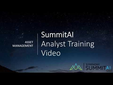 Asset Life Cycle Management Analyst Training Part - 1