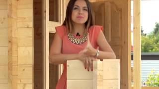 видео Дачные домики. Строительство дачных домов своими руками