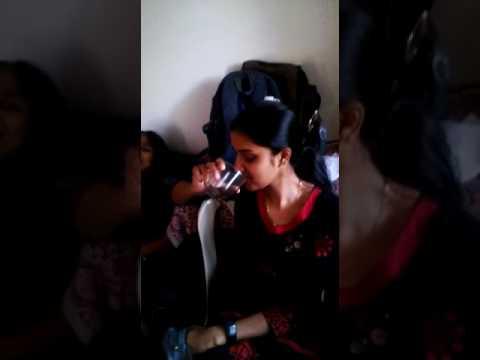 young girl drinking alcohol | tamilnadu funny girls |