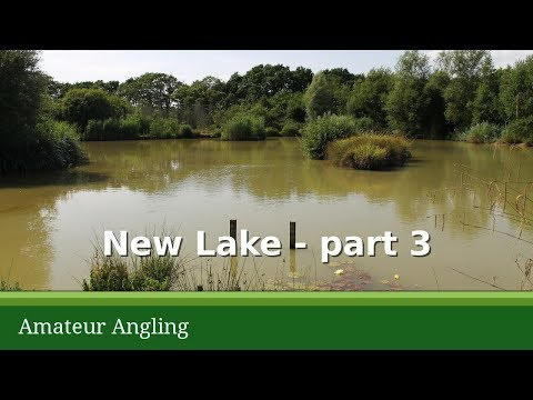 Fishing In Hot Weather - New Lake
