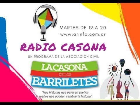 Radio Casona: Entrevista a Natalia Pinilla y Sol Mendoza (Programa N°181)