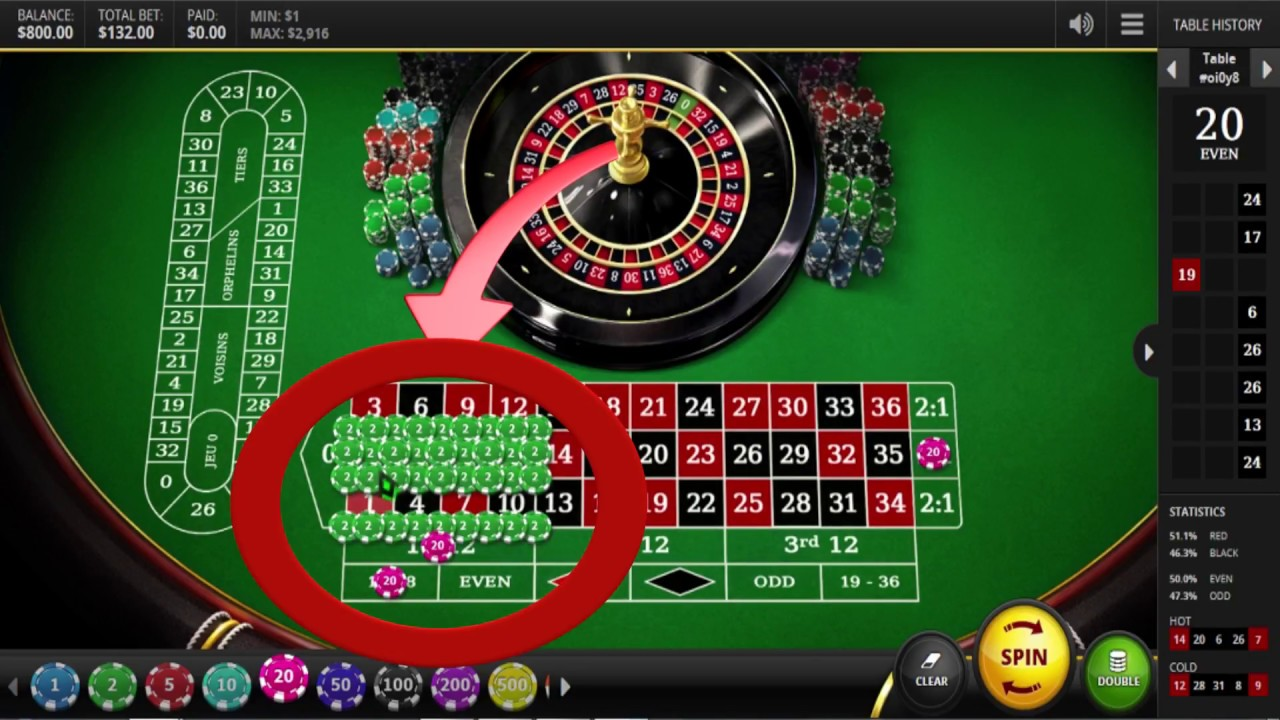 Roulette Game Strategy