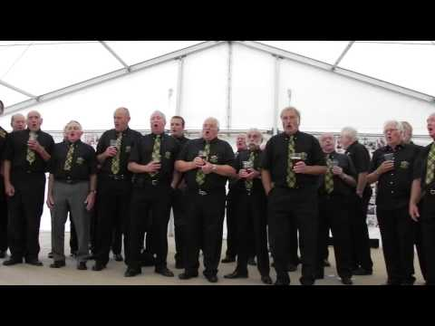 Newquay Rowing Club Singers, Newquay Fish Festival.
