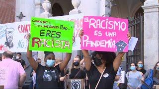 3.000 personas protestan frente a la Embajada de EEUU por la muerte de Floyd