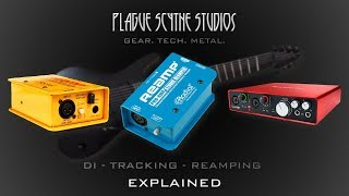 Recording Guitar: DI, Tracking, Re-Amping & More - Explained