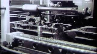 Automation in the workplace in the U.S.A., 1950's - Film 16049