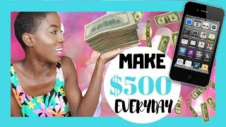 BEST WAY HOW TO Make QUICK Money Online VIDEO FAST, EASY, LEGIT WAY 2016 -2017  Make $500 daily