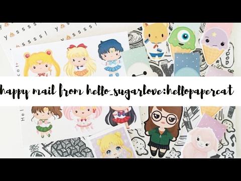Happy Mail From Hello_Sugarlove (Hellopapercat)