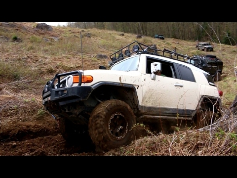 Toyota FJ Cruiser Off-Road Extreme 4X4