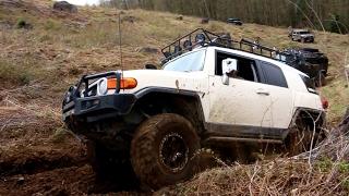 EXTREME 4X4 OFF-ROAD - Toyota FJ Cruiser DESTROYING Mud Hill