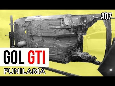 GOL GTI 1993: ASSOALHO NOVO, LONGARINAS, CAIXAS DE AR E + | CUSTOM GARAGE #EP07