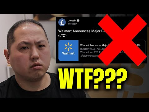 BITCOIN DUMP CAUSED BY FAKE NEWS   IS LITECOIN RESPONSIBLE?