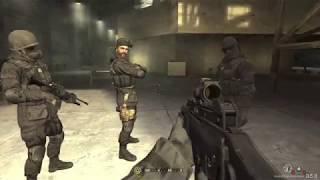 Call Of Duty '4' Game Play Video #1
