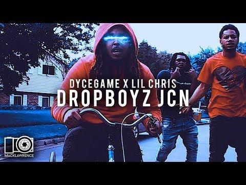 DropBoyz JCN - DyceGame Ft Lil Chris (Prod. By Dycegame) -  Shot By Mack Lawrence Films