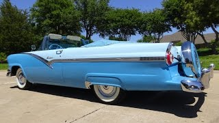 Ford Thunderbird 1956 - Convertible American Dream Car Videos